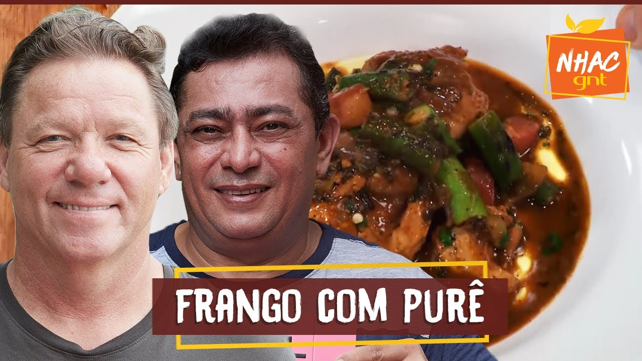 Frango com quiabo e purê de batata baroa | Claude Troisgros e Batista | Que marravilha!