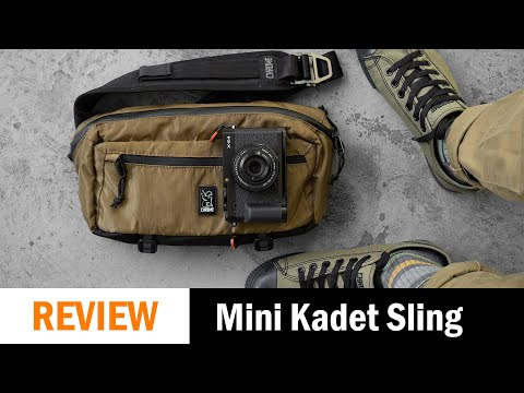 Bag Review: Chrome Mini Kadet Great EDC Sling (I Could Fit 3 Cameras Inside)