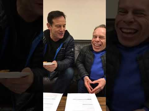 Jason isaacs and warwick Davis answers to FB  questions