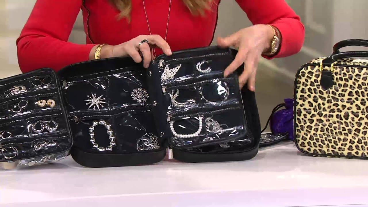 Gold Silver Safekeeper Jewelry Case by Lori Greiner on QVC YouTube