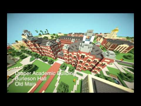 Baylor University Minecraft Megabuild