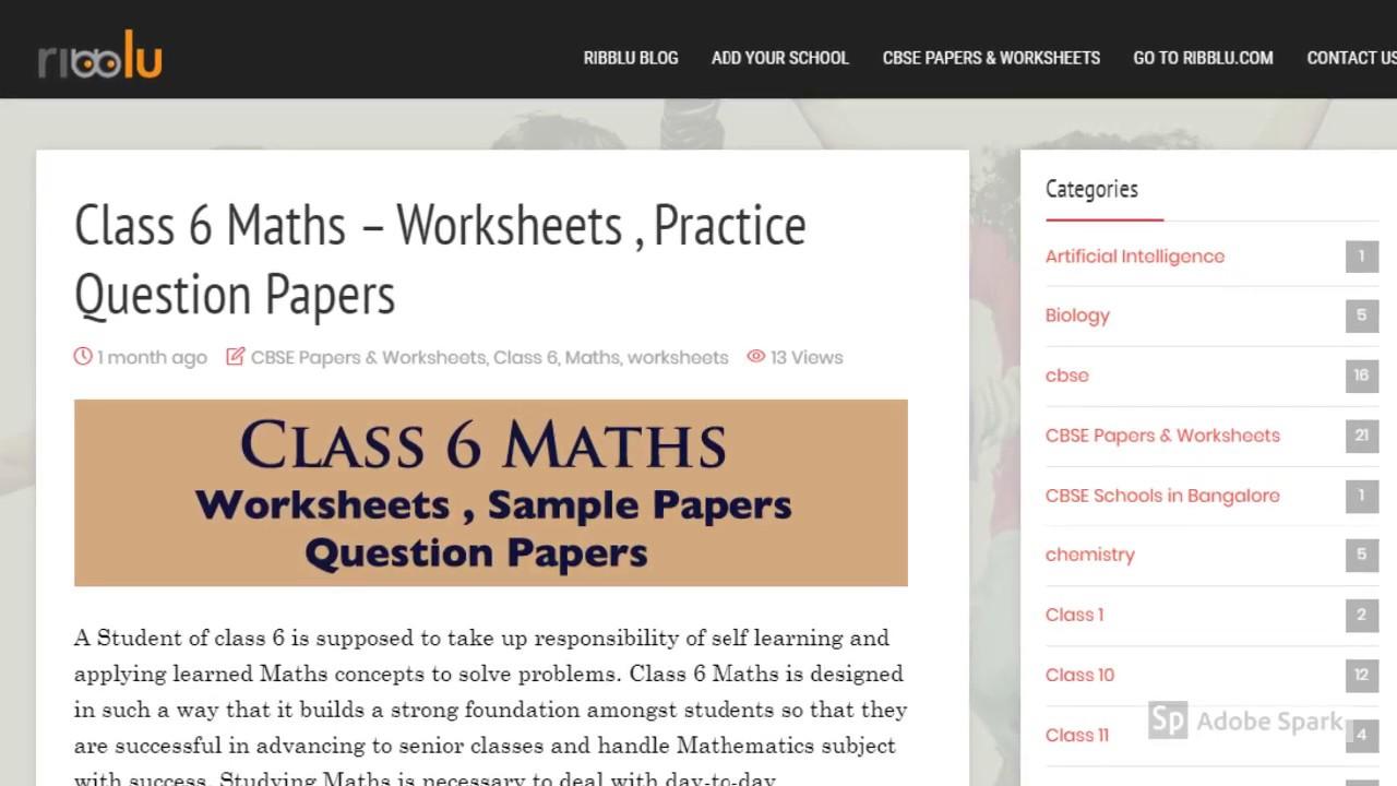 Ncert Class 5 Maths Std 5th Maths Worksheets Question Answers Youtube [ 720 x 1280 Pixel ]