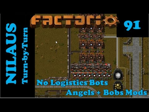 Factorio S6E91 - Angels Smelting of Aluminium