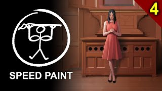 Painting a Church Girl - Part 4