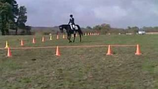 Eliza Timms-Pedley riding Tequilla Limelight