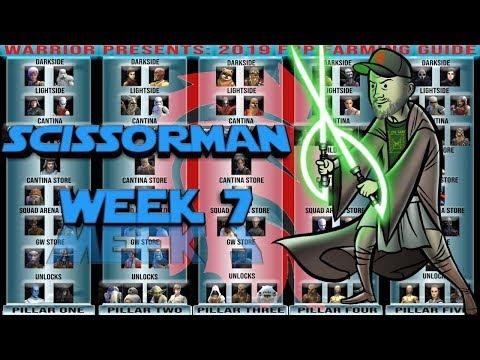 Warrior's Weekly series: Scissorman F2P Account!   star wars galaxy of Heroes swgoh