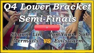 Yu Gi Oh! Active Cardz Series 2014 Season 1 Q4 Lower Bracket Semi Finals Shaun vs Jun Yuan Match 2
