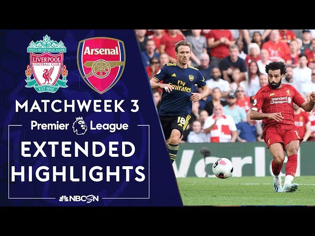 Liverpool v. Arsenal | PREMIER LEAGUE HIGHLIGHTS | 8/24/19 | NBC Sports
