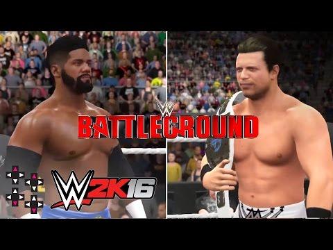 Battleground 2016: Darren Young vs. The Miz (Intercontinental Title Match) — WWE 2K16 Match Sims