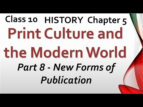 Print Culture And The Modern World - Class 10 History Chapter 5 In Hindi (Part 8)
