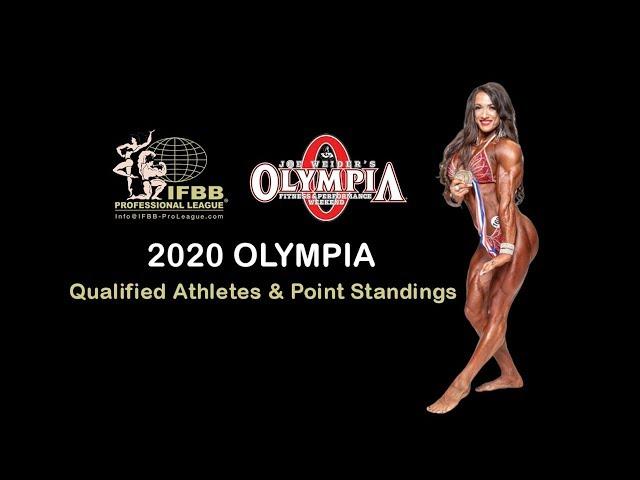2020 Olympia Qualified Athletes - обзор от 21 ноября 2019 года.