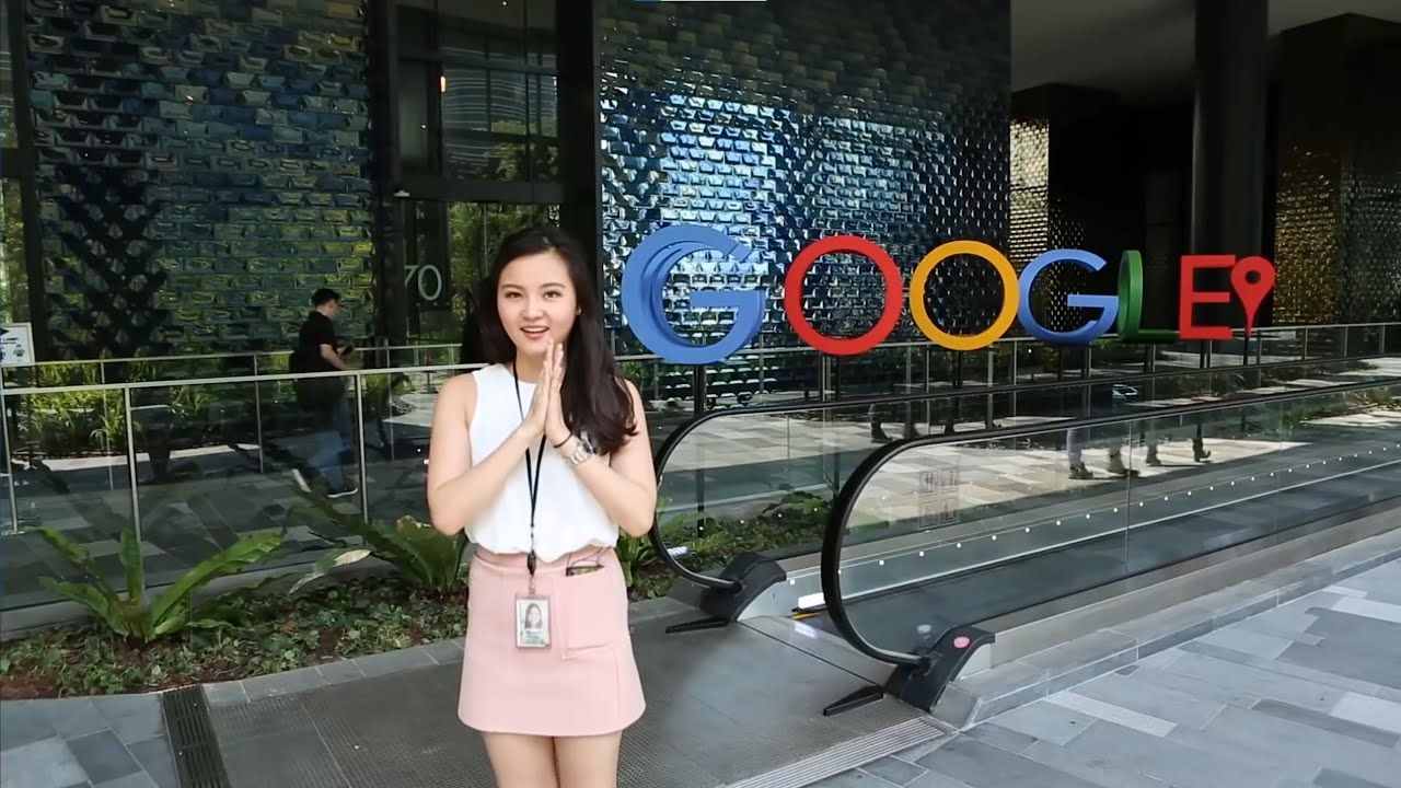 Google Singapur kancelarije, insajderska tura
