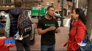 Boston, Massachussetts: sayohat & suhbatlar - Bostonians talk to VOA Uzbek