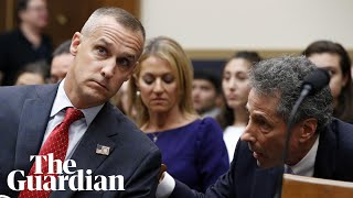 Chaotic scenes at House hearing as Corey Lewandowski refuses to answer questions
