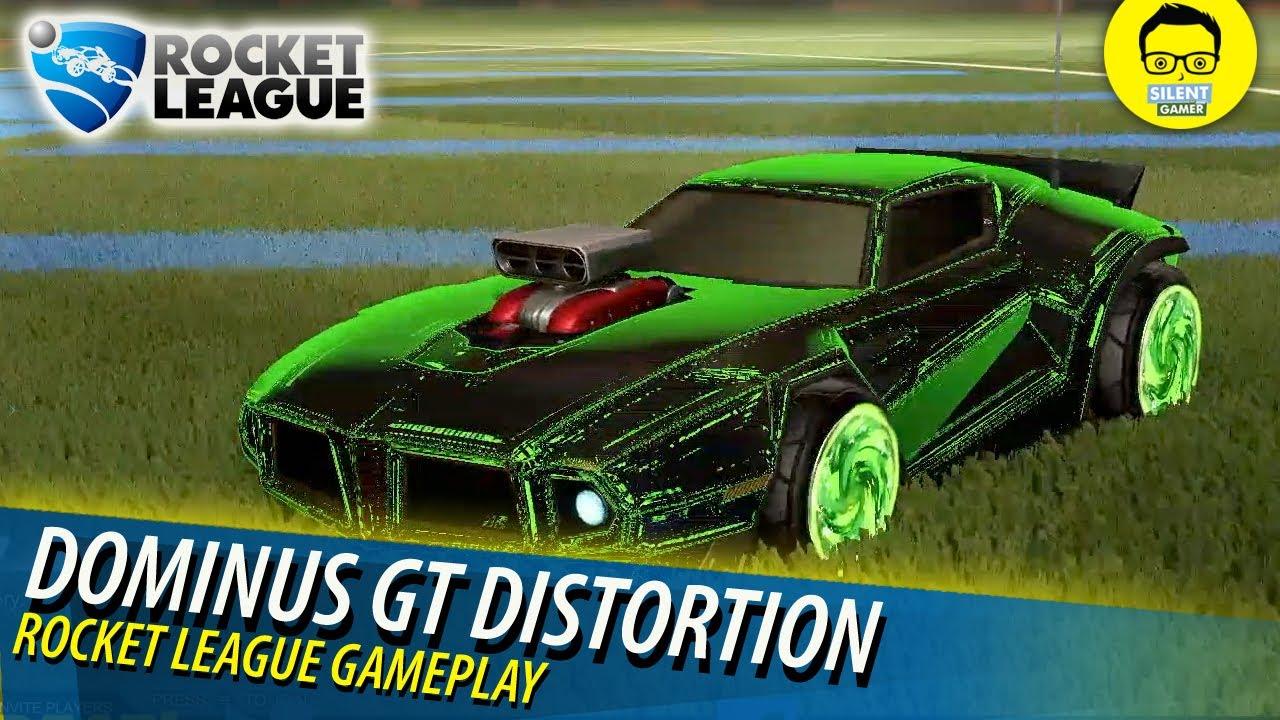 Rocket League Garage >> New Upgrades! Dominus GT Distortion - Rocket League ...