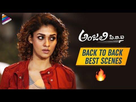 Anjali CBI Back To Back Best Scenes   Nayanthara   Vijay Sethupathi   2019 Latest Telugu Movies
