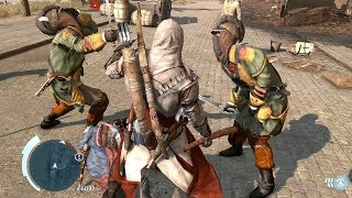 Assassin's Creed 3 Axe Club Rampage with Master Connor