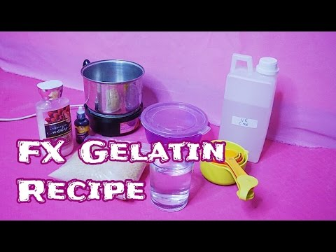 Quick & Easy - How to Make SFX Gelatin (Basic DIY FX Gelatin Recipe) // Dian Dananjaya