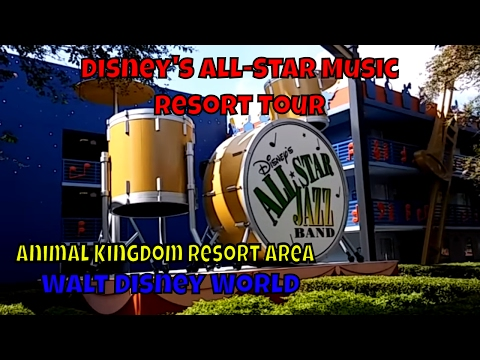 Disneys AllStar Music Resort Tour at Walt Disney World