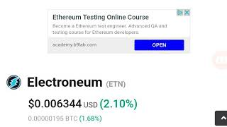 Electroneum - My New Strategy!
