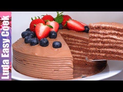 «МОЛОЧНАЯ ДЕВОЧКА»  Шоколадный ТОРТ на праздник  M LKY G RL CAKE M LCHMÄDCHEN  food channel