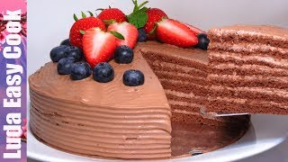 ТОРТ на 8 марта! Шоколадный Торт «МОЛОЧНАЯ ДЕВОЧКА»  | MILKY GIRL CAKE MILCHMÄDCHEN | food channel