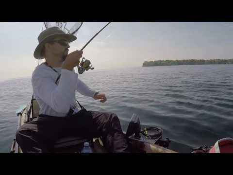 Jigging for Lake Trout on Lake Simcoe 2016