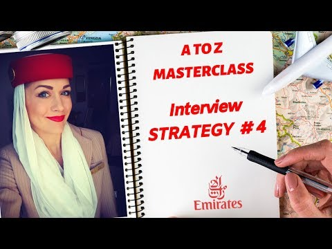 ✈️Questions + Strategies Asked At The Emirates Final Interview 2019 Part #4