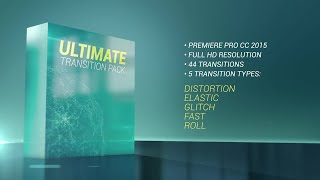 Ultimate Transition Pack Premiere Pro Templates