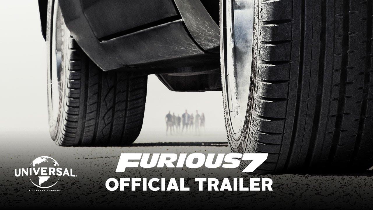 furious 7 official trailer