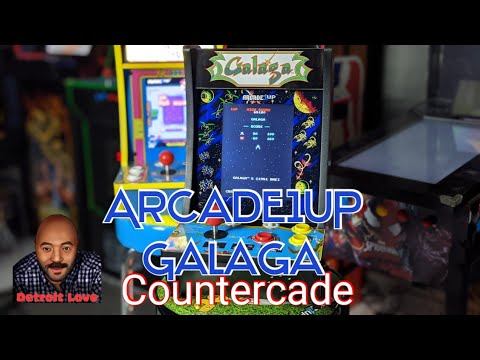 Galaga Countercade by Arcade1UP @Detroit Love from Detroit Love