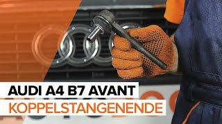 Montage AUDI A4 Avant (8ED, B7) Sensor Raddrehzahl: kostenloses Video