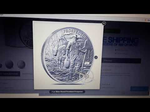 NEW PROVIDENT METAL PROSPECTOR  SILVER ROUND RELEASE 1/20/2018