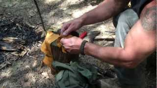 Primitive Hunting Tool ...The Bola  (Boleadoras)