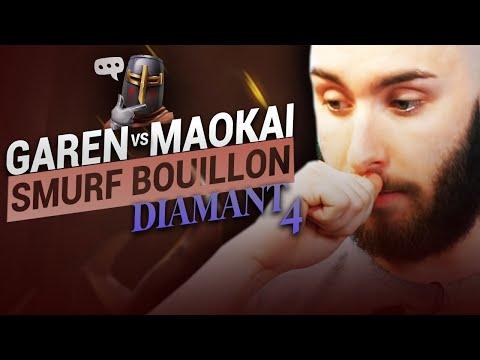 Vidéo d'Alderiate : [FR] ALDERIATE & AKABANE - SMURFING BOUILLON - GAREN VS MAOKAI  - ON SE BAT JUSQU'AU BOUT
