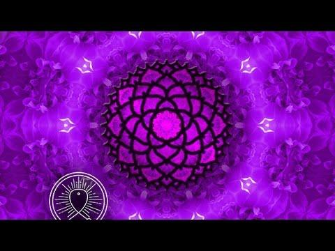Binaural Beat Crown Chakra Meditation: Healing Meditation Music Relax Mind Body, Sleep Meditation