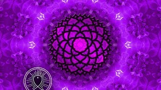 Binaural Beat Crown Chakra Meditation: Healing Meditation Music Relax Mind Body, Sleep Meditation