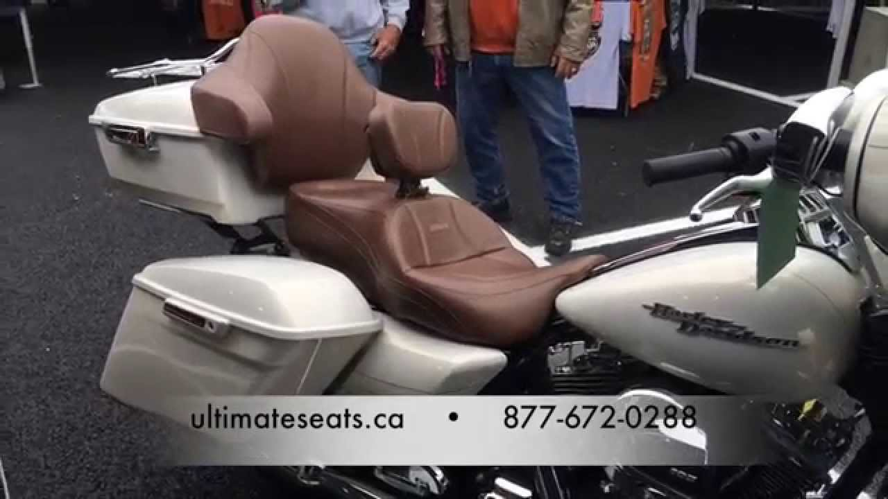 Ultimate Motorcycle Seats >> Ultimate Seats Street Glide With Custom Brown Cover