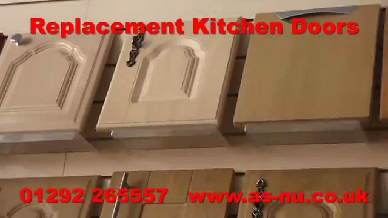 Replacement Kitchen Doors and Replacement Cupboard Doors - YouTube