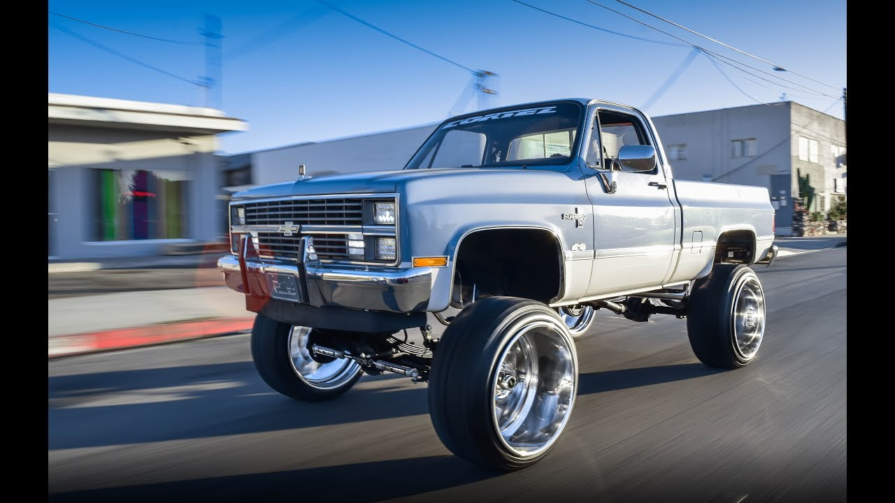 All Chevy 1980 chevy k10 : 1980 Chevy K10 on 26x16 Intros - YouTube