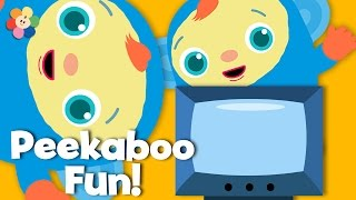 Funny Items | Hide and Seek for Babies | Peek-A-Boo, I See You | BabyFirst TV