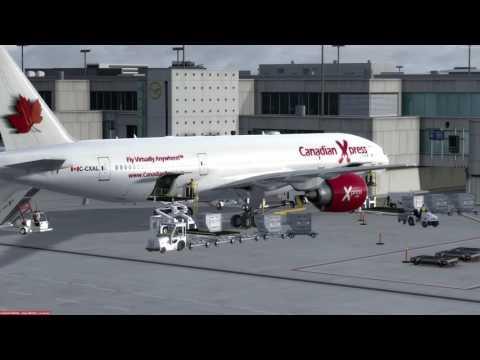 Boeing 777-200LR Frankfurt (EDDF) to Moscow (UUEE) P3D v3.4