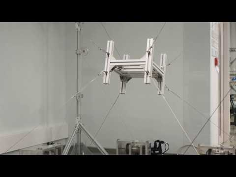 CUHK Cable-Driven Robot spatial motion demonstration