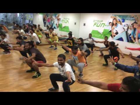 Folk fitness demo at Abs Kharadi, Pune Part 1