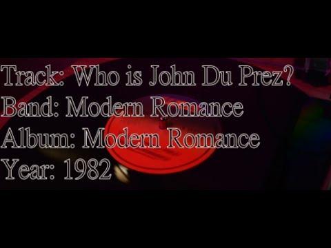 Who is John Du Prez? Rare track from 1982