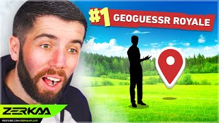 Winning GeoGuessr Battle Royale WITHOUT Moving!