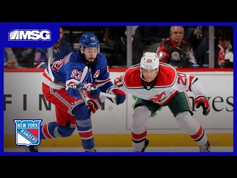 Rangers Penalty Kill Spectacular Against Devils | New York Rangers