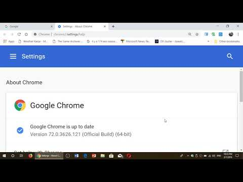 IMPORTANT Security Update For Google Chrome Web Browser March 7th 2019