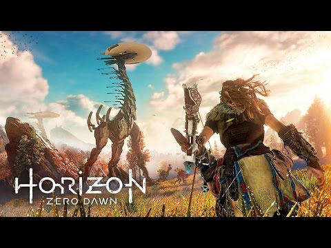 Horizon Zero Dawn - GIANT MECHANICAL MONSTERS!!  (HORIZON ZERO DAWN Gameplay Walkthrough Part 1)