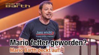 Kurz vor der Sendung - Mario fetter geworden? /// MARIO BARTH DECKT AUF